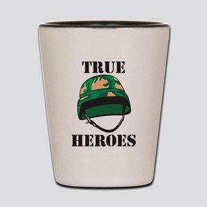True Heros - the Marines Shot Glass