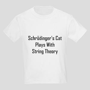 Schrodinger's Cat Plays Kids Light T-Shirt