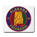 The Alabama Freemason Mousepad