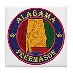 The Alabama Freemason Tile Coaster