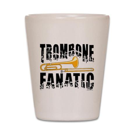 Trombone Fanatic Shot Glass