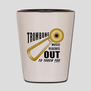 Trombone Touch Shot Glass