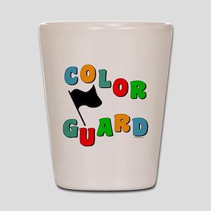 Colorful Guard Shot Glass