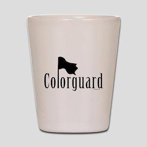 Colorguard Shot Glass