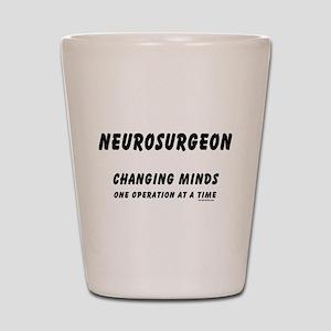 Neurosurgeon Text Shot Glass