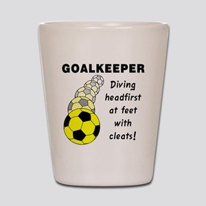 Soccer Goalkeeper Shot Glass
