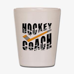 Hockey Coach Shot Glass