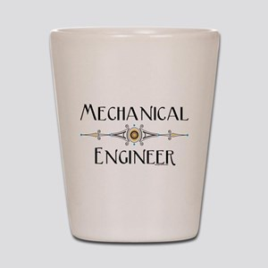Mechanical Engineer Line Shot Glass