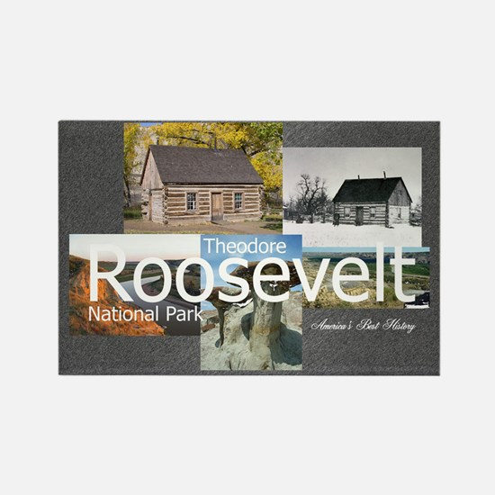 ABH Theodore Roosevelt NP Rectangle Magnet