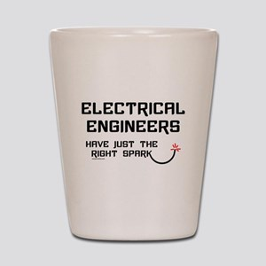 Electrical Engineers Sparks Shot Glass