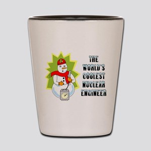Coolest Nuclear Engineer Shot Glass