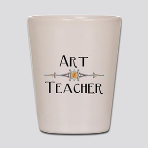 Art Teacher Line Shot Glass