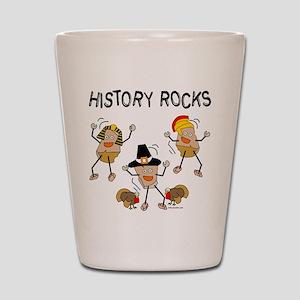 History Rocks Shot Glass