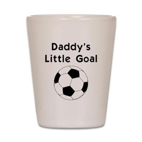 Daddy's Goal Shot Glass