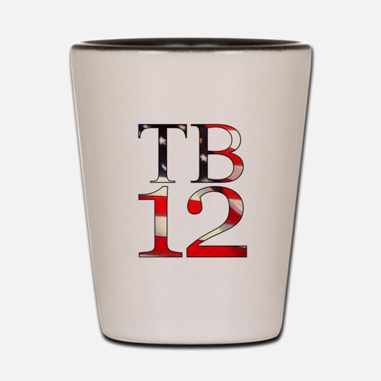 TB 12 Shot Glass