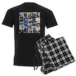 Historic Inauguration Memorab Men's Dark Pajamas