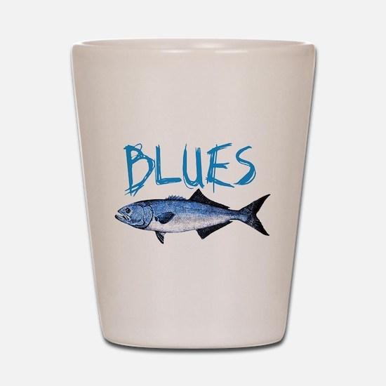 Blues Shot Glass