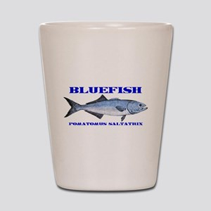 Bluefish - Potamus Saltatrix Shot Glass