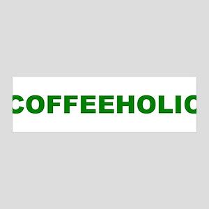 Coffeeholic 42x14 Wall Peel