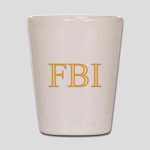 FBI - Department Of Alcohol Shot Glass