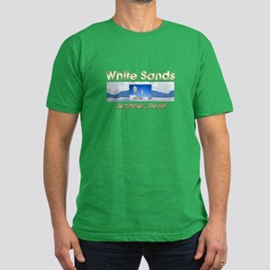 ABH White Sands Men's Fitted T-Shirt (dark)