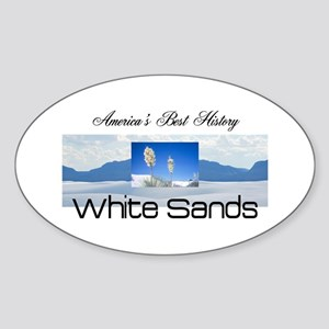 ABH White Sands Sticker (Oval)