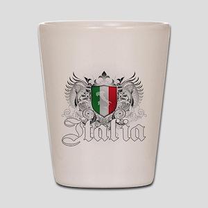 italian pride Shot Glass