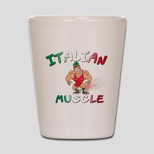 Italian Bad Boy Shot Glass