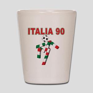 2010 World Cup Italia Shot Glass