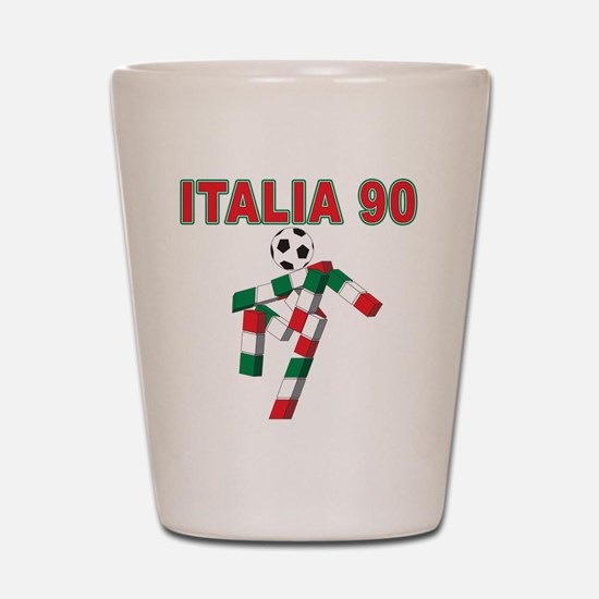2010 World Cup Italia Shot Glass