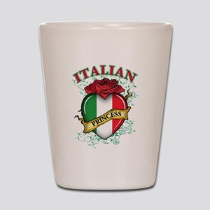 Italian Princess Shot Glass
