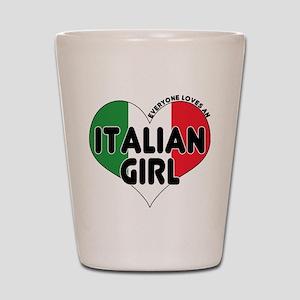 Everyone Loves an Italian Gir Shot Glass