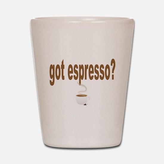got espresso Shot Glass