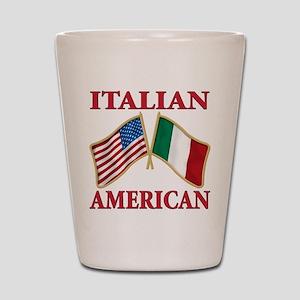 Italian american Pride Shot Glass