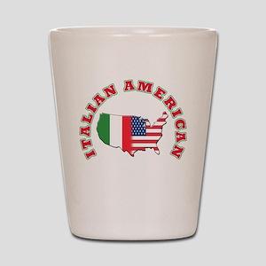 Italian american Shot Glass