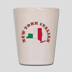 New York Italian Shot Glass