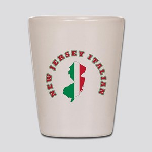 New Jersey Italian Shot Glass