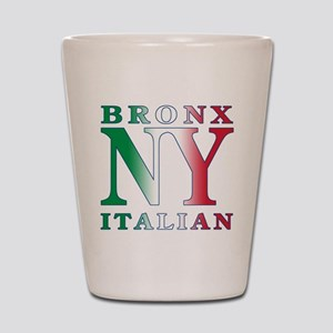 Bronx New york Italian Shot Glass