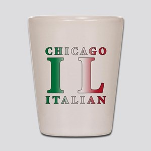 Chicago Italian Shot Glass