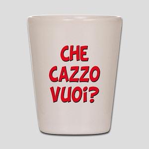 italian Che Cazzo Vuoi Shot Glass