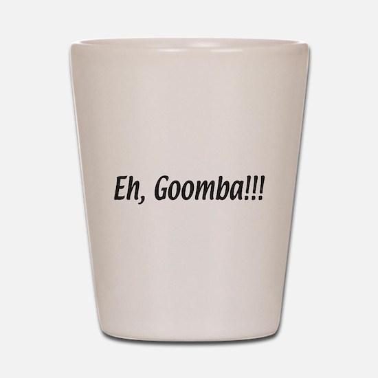 Italian Eh, Goomba Shot Glass