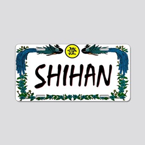 SHIHAN/MASTER License Plate