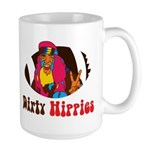 Dirty Hippies Large Mug