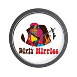Dirty Hippies Wall Clock