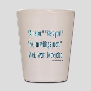 Sneeze: A Funny Haiku Shot Glass