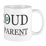 Proud Pet Parent 11 Oz Ceramic Mugs