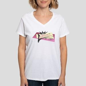 Beauty Watch - Queen Of Women's V-Neck T-Shirt
