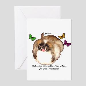 PRNI Pekingese Rescue Greeting Card