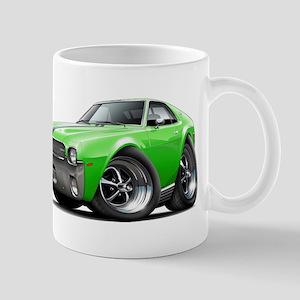 1968-69 AMX Lime-Black Car Mug