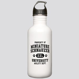 Property of Miniature Schnau Stainless Water Bottl